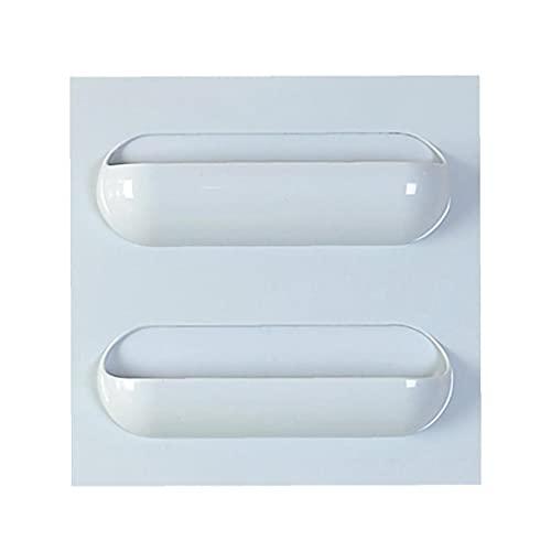 fregthf Titular de baño de Almacenamiento - Cocina Esponja Organizador - Ducha de Esquina Estante Caddie - escurridor para cocinas y baños 8.7 * 8.7inch Azul 2 Rejillas