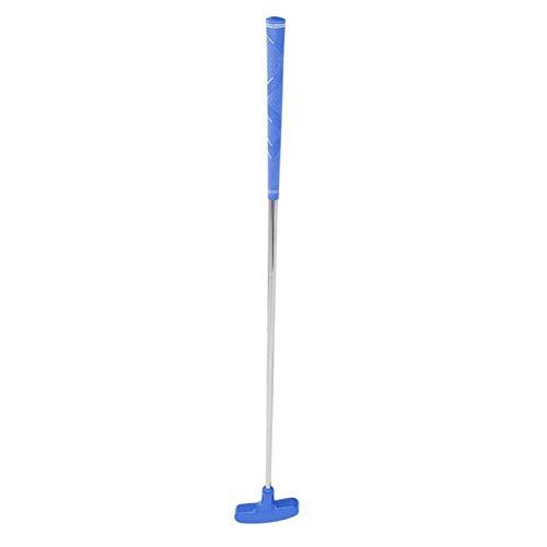 Putter de Golf Junior 31 Pulgadas Putter de Golf bidireccional Cabeza de Goma Palos de Golf para niños Acero Inoxidable Putter de Mini Golf para golfistas jóvenes diestros o Zurdos(Azul)