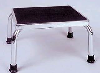 Alex Orthopedic - JP9960 - JP9960 Bathroom Step Stool - Black & Chrome - 11 L x 14 W in.