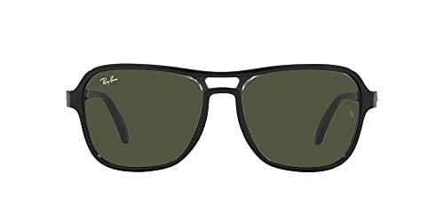 Ray-Ban 0RB4356-654531-58, Gafas Hombre, Negro trasparent Black