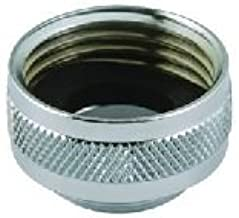 Male 55//64-27 Bottom Threads Male 15//16-27 Top Threads Solid Brass Pack of 50 Male 15//16-27 Top Threads Male 55//64-27 Bottom Threads Neoperl 15 3360 4 Faucet Adapter Chrome Finish Pack of 50
