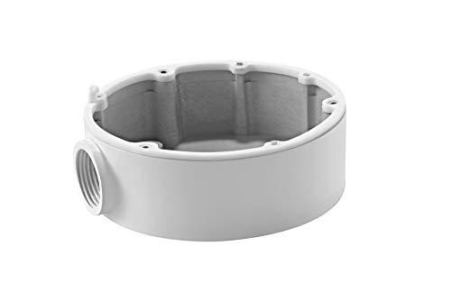 Hikvision Digital Technology DS-1280ZJ-DM18 cámaras de seguridad y montaje para vivienda Monte - Accesorio para cámara de seguridad (Monte, Universal, Blanco, DS-2CD2112-(I), DS-2CD2132-(I), Aluminio, 101 mm)