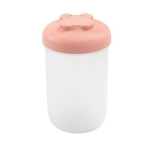 UPKOCH luftdichter Vorratsbehälter für Lebensmittel Plastikbehälter mit Deckel für Mehl Zucker Backen Müsli groß rosa