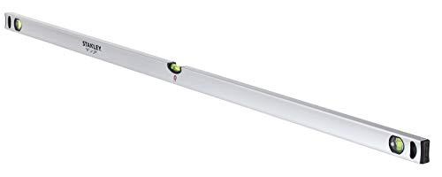 Stanley Wasserwaage Klassik (150 cm Länge, magnetisch, schlagfeste Blocklibelle, große Seitenlibelle) STHT1-43115