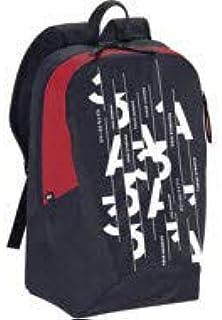 adidas Unisex Parkhood Graphic Backpack, Legend Ink/Scarlet/White