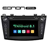 Eonon Car Stereo Radio 8' Android 8.1, 32G ROM Car GPS Navigation Head Unit, Compatible with Mazda 3 (2010-2013),Support Bluetooth, WiFi Connection- GA9263B
