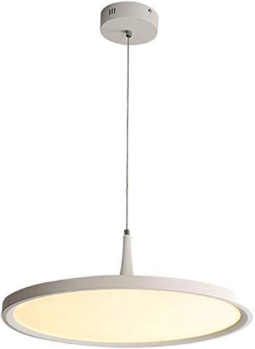 Moderne LED Kroonluchter for Eettafel |Klassieke Hanglamp Acryl enkele kop ronde kroonluchter |Living Room Ceiling Light, Warmlights, 50cm (30W) XIUYU (Color : Whitelights)