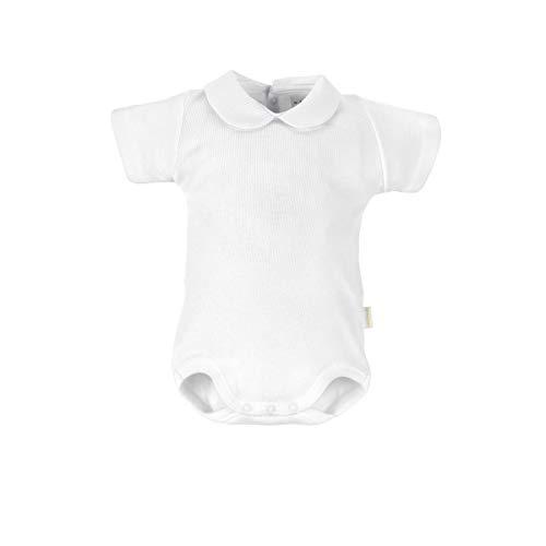 Cambrass 0 Body, Blanco, 56 cm Unisex bebé