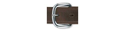 "Tandy Leather Econo Buckle Heel Bar 1"" (25 mm) Nickel Plated 1574-22"