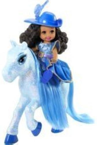Barbie - N8025 - Poupée - Shelly Mousquetaire - Turquoise