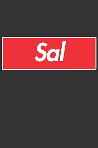 Sal: Sal Planner Calendar Notebook Journal, Personal Named Firstname Or Surname For Someone Called Sal For Christmas Or Birthdays This Makes The Perfect Personolised Custom Name Gift For Sal