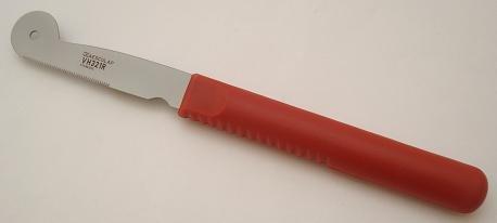 Kerbl Trimmmesser 195mm, sehr fein gezahnt