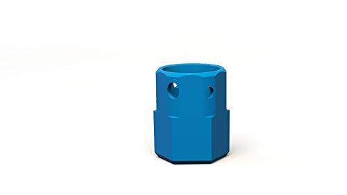 Nuki 220408 Combo 2.0 - Pomo Giratorio para Cerradura electrónica de Puerta WINKHAUS Dom Adaptador para Cilindro de pomo Smart Lock