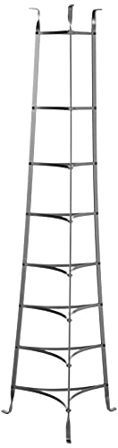 Enclume 8-Tier Cookware Stand, Free Standing Pot Rack, Hammered Steel ( Unassembled)