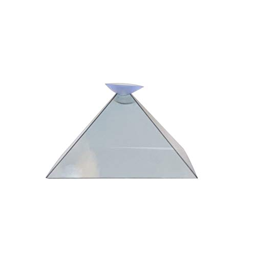 Valigrate 3D Hologram Pyramid Display Projector Video Stand Bracelet Universal For Smart Mobile Phone