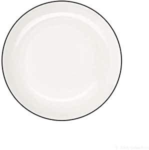 ASA 1906113 Lot de 2 assiettes à dessert en ligne noire LIGNE 14,5 cm
