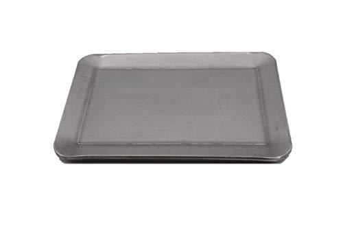 oka-d-art 黒皮鉄板 スモールタイプ 【黒皮鉄板単品 穴なし/有り 】 ラージメスティン用 (穴なし, 3.2)