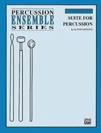 Alfred Publishing 00-perc9619Suite per percussioni–Music Book