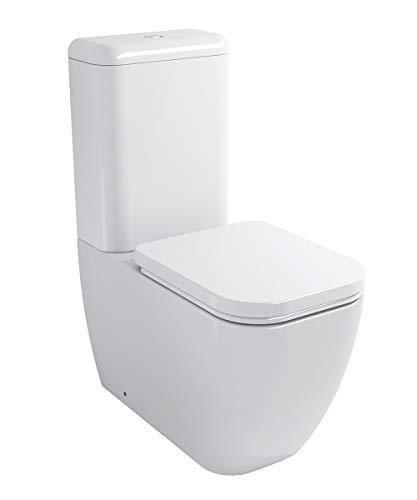 BERNSTEIN Stand-WC Toilette mit Softclose-Sitz CT101