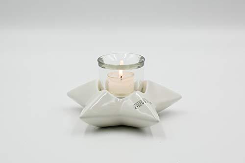 Tiziano Windlicht Teelichthalter Stern Casoria 17cm