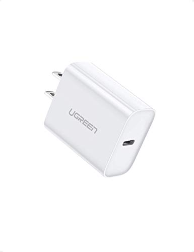 iPad Pro Type C Wall Charger for AirPods Pro UGREEN USB C Charger 18W PD Fast Charger with 3FT C to Lightning Cable iPhone SE 11 Pro Max Xs Max XR X 8 Plus MFi Certified