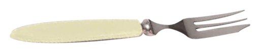 Dyna combinatie van mes en vork (voor linkshandigen.