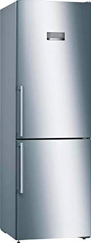 Bosch Elettrodomestici KGN367IDQ Serie 4 - Frigorífico combinado de libre posicionamiento, 186 x 60 cm, acero inoxidable, fácil de limpiar