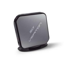 Acer Veriton VT N281G 1,8 GHz Intel® Atom™ D425 Schwarz, Grau Nettop PC - PCs/Workstations (1,8 GHz, Intel® Atom™, D425, 2 GB, 320 GB, Windows 7 Home Premium)