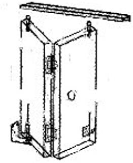 John Sterling Corporation Bi-Fold Door Hardware Kit for 4-Door Opening #RP-1534