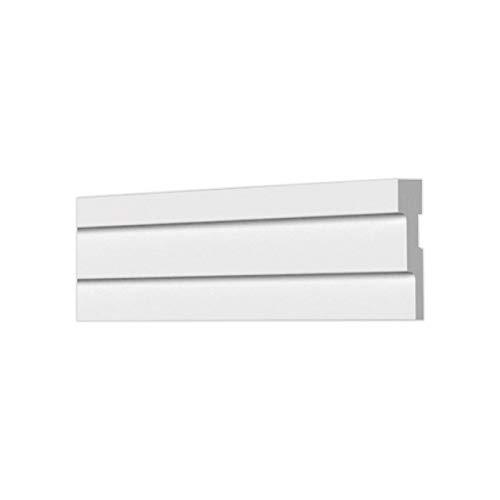 A la Maison Ceilings KL02 Lines Crown Molding, White
