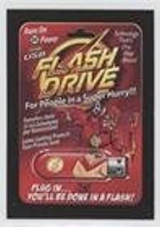 The USB Flash Drive (Trading Card) 2017 Topps Wacky Packages 50th Anniversary - Crazy Pop Culture #7