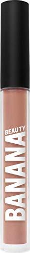 Banana Beauty Coffeeplease! (3 ml) – Semi Matte Liquid Lipstick – kussechter Lippenstift Nude für volle Lippen – dezenter Lipgloss matt – gräulicher Nude-Ton