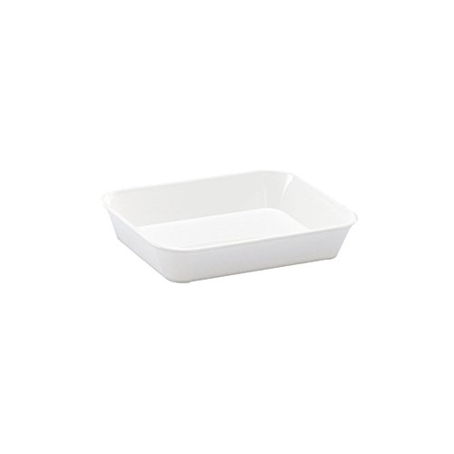 WACA® 1401-710 Auslageschale Präsentationsschale 190x150x40 m weiß