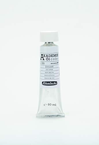 Schmincke 60ml Akademie Öl Color Zinkweiss Öl 41 100 011