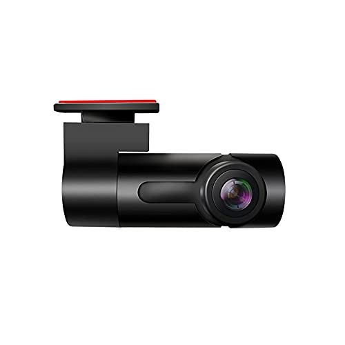 YUYAN Grabadora Oculta HD Visión Nocturna Coche inalámbrico WiFi grabadora de conducción Mini HD Starlight Night Vision Parking Monitoring Loop Grabación fácil de Instalar