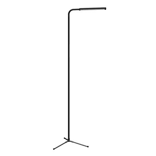 DONGYANG-Lámparas- Lámpara de pie LED Simple moderno sala de estar mesa de café dormitorio estudio de noche de noche lámpara de mesa negra lectura de piano lectura decorativa iluminación táctil de luz