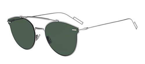 Dior Cristianos DiorPressure gafas de sol w/lente verde 57mm Presión 6LB07 de presión/S DiorPressure/S hombre Rutenio Grande