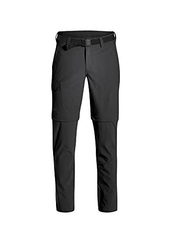 MAIER SPORTS, Herren Torid Slim Zip Hose,Schwarz (Black - black), 50
