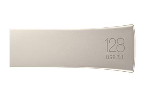 Samsung MUF-128BE3/EU BAR Plus 128 GB Typ-A USB 3.1 Flash Drive Champagne Silber