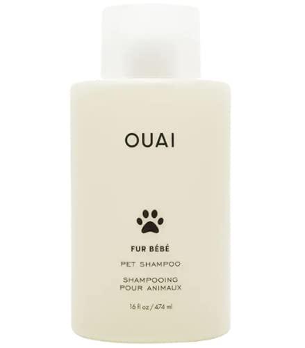 OUAI Fur Bébé Pet Shampoo, Mercer Street Scent, 16 Fl Oz