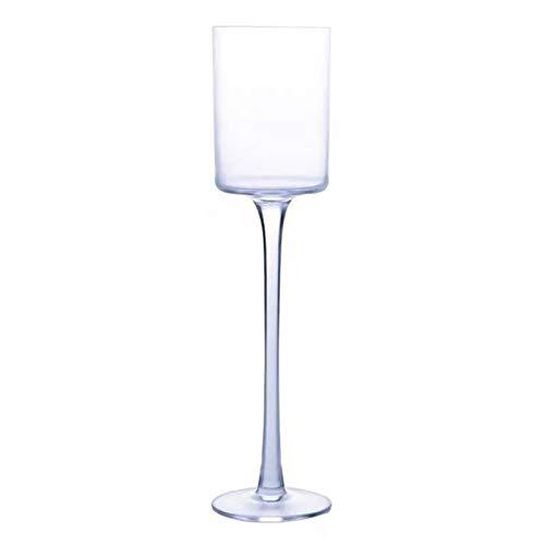 Goodvk Copa de Vino Tinto Creatividad e Individualidad de la Copa clásica de Cristal de champán. Decoración Elegante (Color : Clear, Size : One Size)