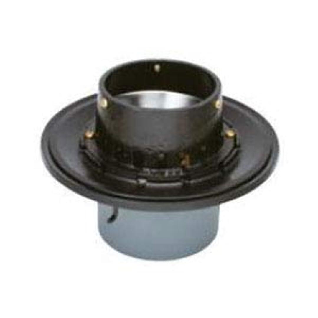 戻る離れた好みカネソウ 鋳鉄製ルーフドレイン たて引き用 打込型 バルコニー中継用 水はね防止型(呼称75) WSJ-2-75
