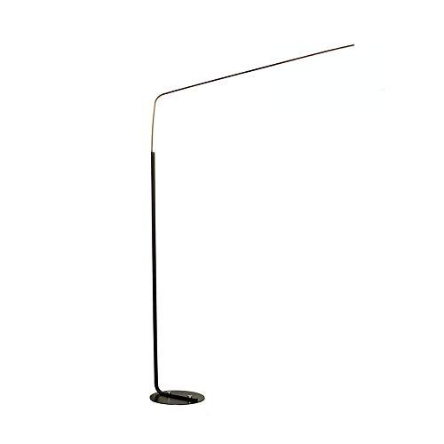 N/Z Home Equipment Arc Stehleuchte LED Dimmbar Moderne 24W Eye Care Reading Stehlampe für Wohnzimmer Schlafzimmer Skandinavischen Stil Schwarz