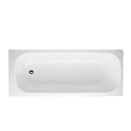 Smavit - Bañera de acero esmaltado (150 x 70 cm), color blanco ✅