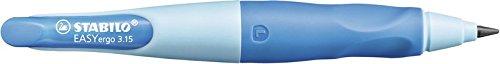 Portaminas ergonómico STABILO EASYergo START – Cuerpo azul – Modelo para ZURDOS