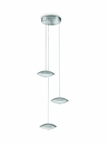 Philips 409621716 Manzoni Suspension LED 6 Lampes Métal Métallique