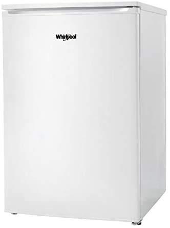 Whirlpool - Congelador vertical W55ZM 111 W blanco, sistema de congelaciòn estàtico, 83.8 x 54 x 61.5 cm, eficiencia NEL F