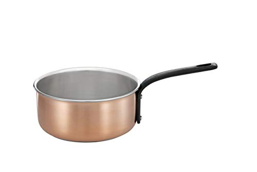 RÖSLE CHALET Stielkasserolle Ø 12 cm, Kupfer, induktionsgeeignet