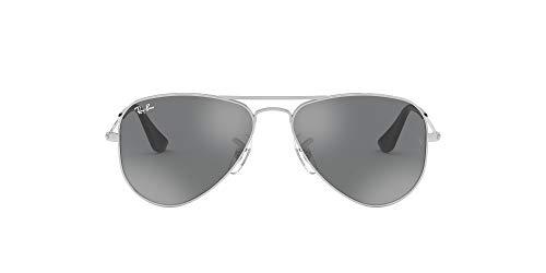 Ray-Ban JUNIOR 0rj9506s 212/6g 52 Gafas de sol, Shiny Silver, Unisex-niños