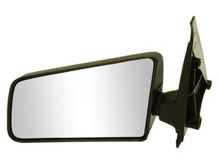 85-93 CHEVY CHEVROLET S10 PICKUP s-10 MIRROR LH (DRIVER SIDE) TRUCK, Manual, Standard Type, Textured (1985 85 1986 86 1987 87 1988 88 1989 89 1990 90 1991 91 1992 92 1993 93) GM11SL 15675113